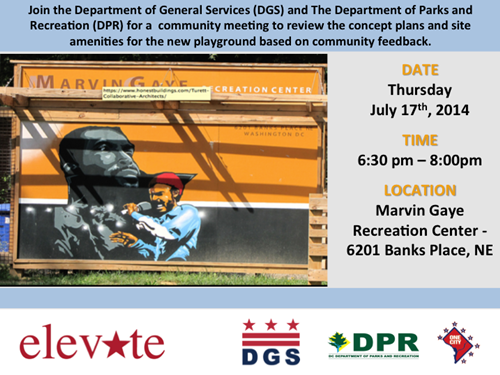 Marvin Gaye Community Meeting July 17, 2014 (Accessible version available, below)