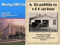 2010 & 2012 DC EMS Annual Report Covers