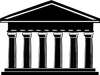 Graphic icon representing educational Institution