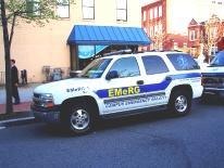 Photo of EMeRG Chase Vehicle - George Washington University