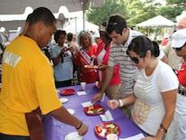 DC residents eat healthy