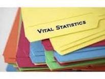 Vital statistics folder
